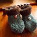 Aster d'automne - Les chaussons pattern