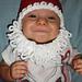 Youth Santa Beard pattern