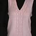 Icy Pink Vest pattern