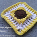 Sunflower Afghan Square pattern