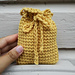 Taryn Soap Cozy (or Small Gift Bag) pattern