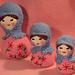 Crocheted Matryoshka Babushka Dolls pattern