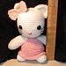 Amigurumi Crocheted Kitty Large pattern