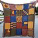 Tunisian Sampler Blanket CAL pattern