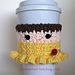 Belle Coffee Cup Cozy pattern