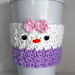 Daisy Duck Coffee Cup Cozy pattern