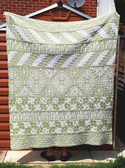 Crocheted by Emily Harmon, interlocking