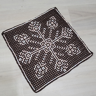 Interlocking crochet