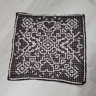 Interlocking Crochet method