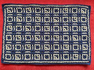 Interlocking crochet by semicci