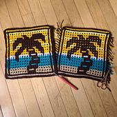 Interlocking Crochet and Overlay Mosaic Crochet Techniques