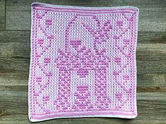 Crocheted by CarolinevdB, mosaic technique