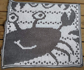 Mosaic, crocheted by Altona Newcombe