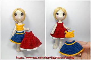 Amigurumi Doll Square Head 'Frozen' Princess Elsa Part 2 - YouTube | 213x320