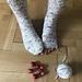 Socks a la Carmen pattern