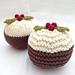 Christmas Puddings pattern