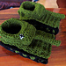Tank slippers pattern