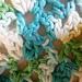 Double Fan Stitch Prayer Shawl pattern