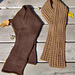 Patch Pair Scarves  pattern