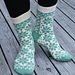 Flower Garden Socks pattern