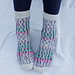 Frequency Socks pattern