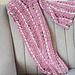 Women's Pink Scarf pattern