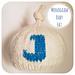 Monogram Baby Hat pattern