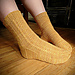 Granary Twist Sock pattern