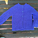 Vertical Lace Baby Cardigan pattern