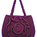 Felted Rose Bag pattern
