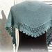 Rosine shawlette pattern