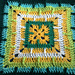 Creeping Trebles Square pattern