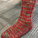 Nickel Plate Socks pattern