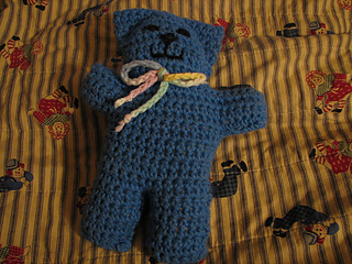 William's comfort bear