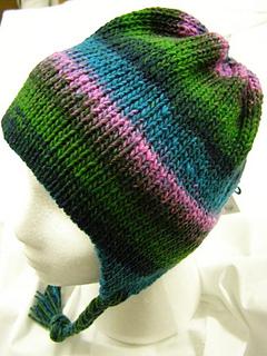 Ravelry Machine Knit Chunky Earflap Hat Pattern By Roni