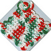 Christmas Angel Dishcloth pattern