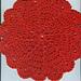 Fire Blossom Dishcloth pattern