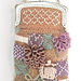 Patchwork Quilt Beaded Knit Coin Purse pattern