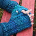 Plaited Cable Fingerless Mittens pattern
