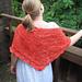 Wings in Flight shawl pattern