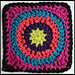 Granny's Circle in Square pattern