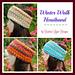Winter Walk Headband pattern