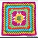 Ziggidy Zag Summer Square pattern