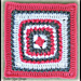 Coral and Stone Square pattern