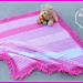 Twirly Whirly Baby Blanket pattern