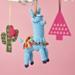 Festive amigurumi llama pattern