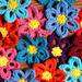 Spring Flower Garland pattern