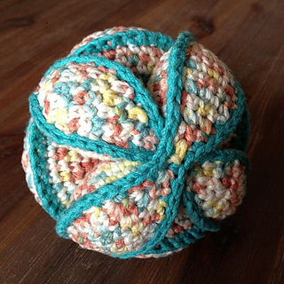 Amish Puzzle Ball Instructions.Ravelry Amish Puzzle Ball Pattern By Dedri Uys
