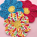 Flower Dishcloth pattern