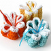 Ribbon Flower Dishcloths pattern